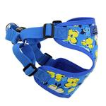 View Image 4 of Wrap and Snap Choke Free Dog Harness by Doggie Design - Hawaiian Blue