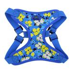 View Image 2 of Wrap and Snap Choke Free Dog Harness by Doggie Design - Hawaiian Blue