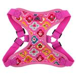 View Image 2 of Wrap and Snap Choke Free Dog Harness by Doggie Design - Maui Pink