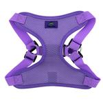 View Image 2 of Wrap and Snap Choke Free Dog Harness by Doggie Design - Paisley Purple