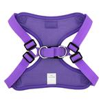 View Image 3 of Wrap and Snap Choke Free Dog Harness by Doggie Design - Paisley Purple