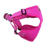 View Image 4 of Wrap and Snap Choke Free Dog Harness by Doggie Design - Raspberry Pink