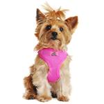 View Image 1 of Wrap and Snap Choke Free Dog Harness by Doggie Design - Raspberry Pink
