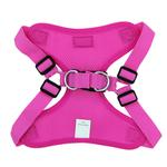 View Image 3 of Wrap and Snap Choke Free Dog Harness by Doggie Design - Raspberry Pink
