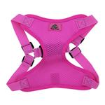 View Image 2 of Wrap and Snap Choke Free Dog Harness by Doggie Design - Raspberry Pink