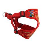 View Image 4 of Wrap and Snap Choke Free Dog Harness by Doggie Design - Tahiti Red