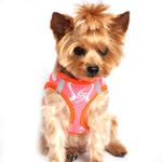 View Image 2 of American River Choke Free Dog Harness Neon Sport Collection by Doggie Design - Iridescent Pink