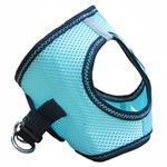 View Image 4 of American River Top Stitch Dog Harness by Doggie Design - Aruba Blue