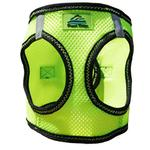 View Image 4 of American River Top Stitch Dog Harness by Doggie Design - Iridescent Green