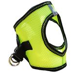 View Image 5 of American River Top Stitch Dog Harness by Doggie Design - Iridescent Green