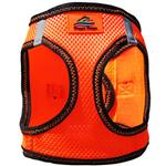 View Image 3 of American River Top Stitch Dog Harness by Doggie Design - Iridescent Orange