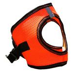View Image 4 of American River Top Stitch Dog Harness by Doggie Design - Iridescent Orange