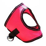 View Image 4 of American River Top Stitch Dog Harness by Doggie Design - Iridescent Pink
