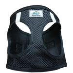 View Image 2 of American River Ultra Choke-Free Mesh Dog Harness by Doggie Design - Black