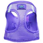 View Image 2 of American River Ultra Choke-Free Mesh Dog Harness by Doggie Design - Purple
