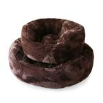 View Image 1 of Amour Dog Bed by Hello Doggie - Chocolate