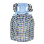 View Image 1 of Annie Dog Tank Dress by Pinkaholic - Blue