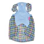 View Image 2 of Annie Dog Tank Dress by Pinkaholic - Blue