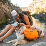 View Image 4 of Approach Dog Pack by RuffWear - Orange Poppy