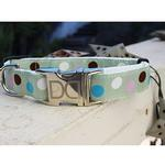 View Image 2 of Metro Dog Collar and Leash Set by Diva Dog