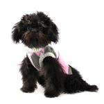 View Image 2 of Argyle Dog Sweater by Hip Doggie - Pink