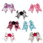 View Image 1 of Aria Grosgrain Rosette Dog Bows