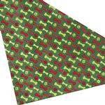 View Image 3 of Aria Holiday Bones Dog Bandana