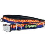 View Image 1 of Arizona Metal Latch Dog Collar by Cycle Dog