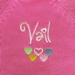 View Image 2 of Vail Dog Sweater by Beverly Hills Dog - Pink
