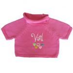 View Image 1 of Vail Dog Sweater by Beverly Hills Dog - Pink