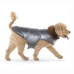 View Image 2 of Aspen Puffer Dog Coat by Up Country - Silver