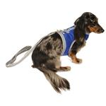 View Image 2 of Athletic Mesh Dog Vest Harness - Blue