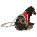 View Image 3 of Athletic Mesh Dog Vest Harness - Red