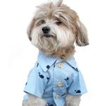 View Image 1 of Baby Beluga BBQ Dog Shirt by Dog Threads