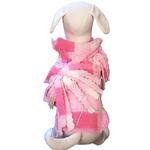 View Image 1 of Baby Girl Fleece Dog Jacket by Cha-Cha Couture