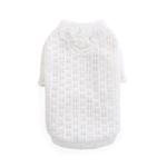 View Image 1 of Sweet Magnolia Dog Sweater by Hello Doggie - White