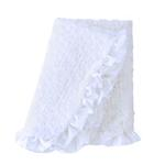 View Image 1 of Baby Ruffle Dog Blanket by Hello Doggie - Heaven