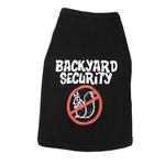 View Image 1 of Backyard Security Dog Tank Top - Black