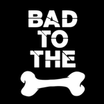 View Image 2 of Bad to the Bone Dog Shirt - Black