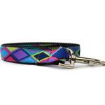 View Image 3 of Tanzania Dark Dog Collar and Leash Set by Diva Dog
