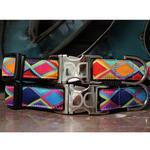 View Image 4 of Tanzania Dark Dog Collar and Leash Set by Diva Dog