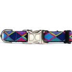 View Image 2 of Tanzania Dark Dog Collar and Leash Set by Diva Dog