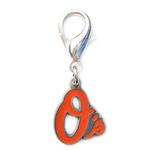 View Image 1 of Baltimore Orioles Logo Dog Collar Charm