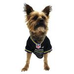 View Image 2 of Baltimore Ravens Officially Licensed Dog Jersey - Black