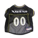 View Image 3 of Baltimore Ravens Officially Licensed Dog Jersey - Black