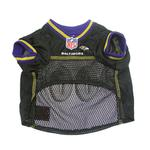 View Image 4 of Baltimore Ravens Officially Licensed Dog Jersey - Black