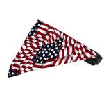 View Image 1 of Bandana Dog Collar - American Flag