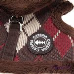 View Image 3 of Bandit Cat Harness Jacket by Catspia - Brown