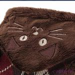 View Image 4 of Bandit Cat Harness Jacket by Catspia - Brown