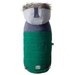 View Image 1 of Cabin Elasto-fit Dog Jacket - Dark Green